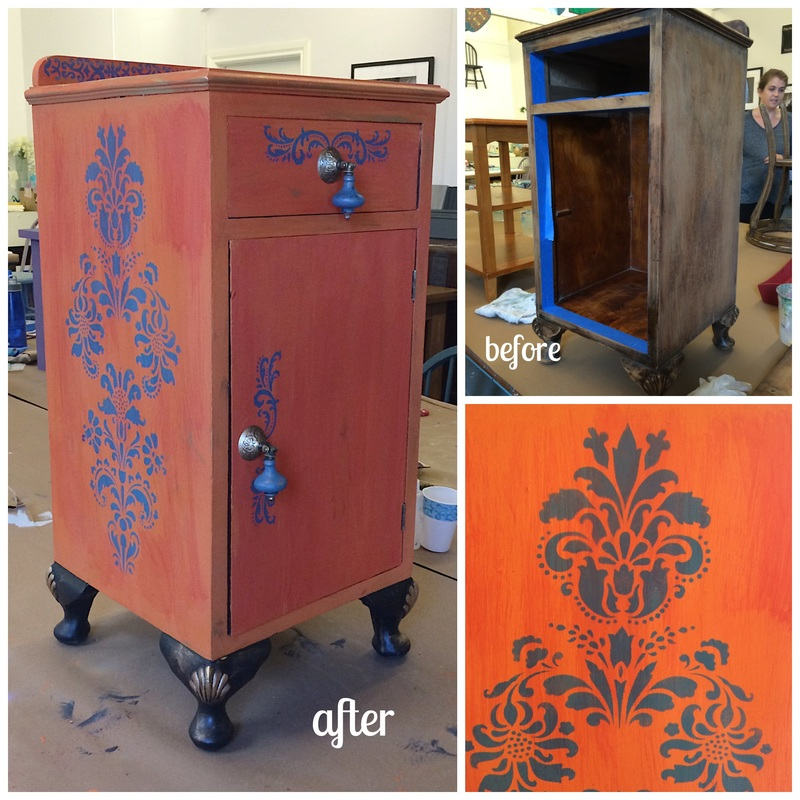 Trash To Treasure Furniture Transformations The Artistic Home Studio And Boutique